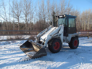 1989 BOBCAT 2410 WHEEL LOADER