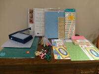 Scrapbooking Kit - COMPLETE to get you STARTED