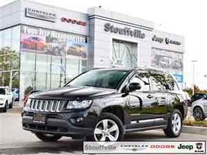 2016 Jeep Compass North ED, Sunroof, Camera, 36,200 KMS W/Snows