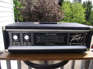 Peavey 260H Monitor Amplifier Head