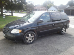 2005 doge Grand Caravan with extra tires and rims
