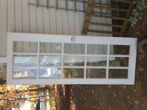 French door and door frame