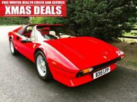 VERY RARE 1985 FERRARI 308 GTSI QUATTROVALVE RHD TARGA TOP STUNNING SPORTS CAR