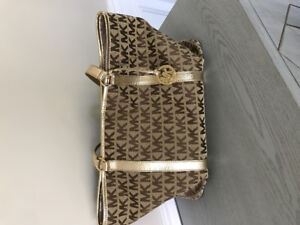 Gold Michael Kors Tote Bag for Sale Contact 647-972-5292