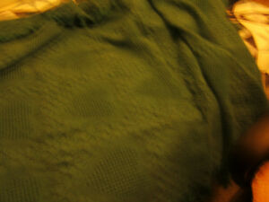 """""""TEAL COTTON COUCH THROW OR BLANKET"""" Kingston Kingston Area image 3"""