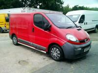 Vauxhall Vivaro 1.9DTi SWB,55 REG,RED,COMPANY OWNED,YEARS MOT,TIDY VAN,NO VAT