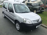 10 PEUGEOT PARTNER COMBI WHEELCHAIR ACCESS ONLY 12000 MILES 1 OWNER