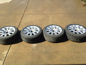 BMW 3 series OEM winter tire and wheel package
