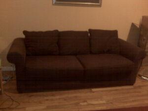Brown Ikea Sofa for sale. Cambridge Kitchener Area image 1