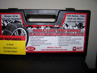 Magic Grip Passenger Cable Link Tire Chains (#1930)
