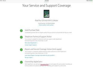 "iPad Pro 12.9"" 128GB Wifi+Cellular unlocked Apple"