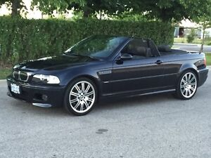 2002 BMW M3 Convertible Triple Black 6 Speed Very Rare!