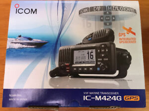 Icom VHF M424G - Brand New in box
