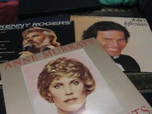 Vinyl Records lp's,  45's from the 70's and 80's