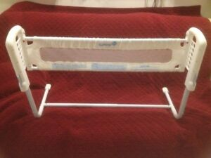 White Safety First Bed Rail