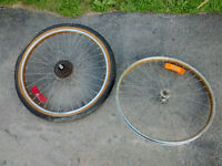Mountain Bike Front and Rear Wheelset - 24 x 2.125