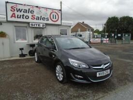 15 VAUXHALL ASTRA 1.6 ELITE 113 BHP - 17947 MILES - 1 OWNER FROM NEW