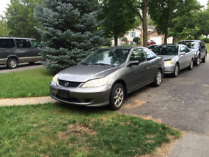 2005 Honda Civic $1400 obo will certify and etest for right $