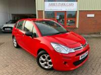 2016 66 Citreon C3 1.2 PureTech 82 Edition 5dr Petrol - Manual - Ruby Red