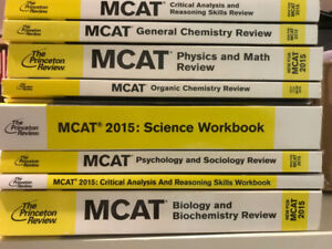 Princeton Review MCAT Books First Edition