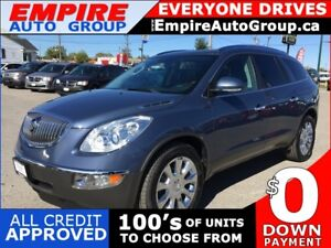 2012 BUICK ENCLAVE PREMIUM GROUP * LEATHER * NAV * REAR CAM * PA