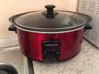 Slow Cooker- Morphy Richards Red