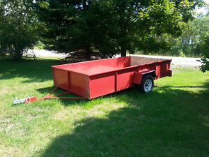 Freshly Built Trailer 6ft wide x 12ft Long x 2ft High