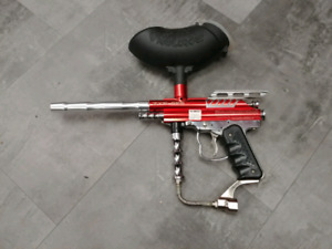 Paintball rouge