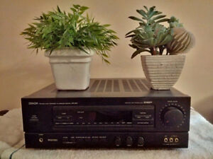 Denon AVR 2000 with Phono/Record Player Input Plus Speakers