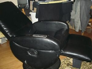 leather look- recliner