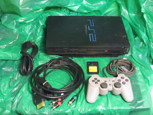 Complete PS2 Game System with Controller and Memory Card