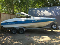 1992 22 feet Bayliner and Escort Trailer