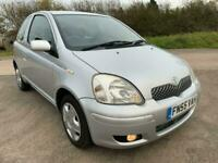 2005 Toyota Yaris 1.0 VVT-i Colour Collection 3dr Hatchback Petrol Manual