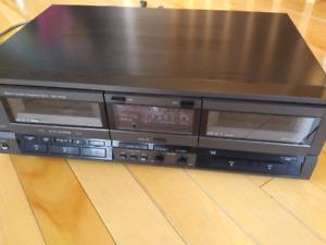 Technics RS-TR155 double cassette deck