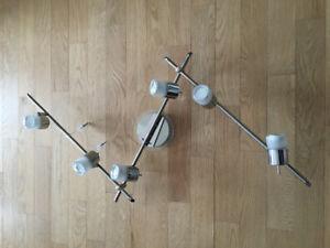 Rail d'éclairage à 6 lumières
