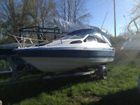Baylinear boat for sale as is