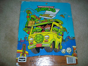 puzzles-christmas, turtles