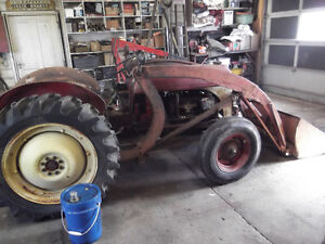 8n ford loader tractor
