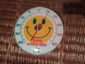 Original 1970s Canada Dry Ginger Ale 12 inch Thermometer