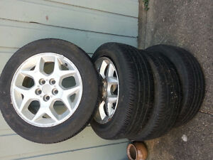 15in All Season Tires and Rims