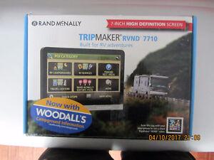 GPS RVND RAND MCNALLY 7710 RV 7po