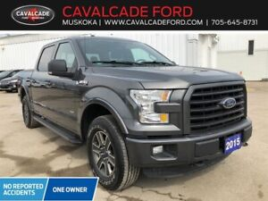 "2015 Ford F-150 4x4 - Supercrew XLT - 157"" WB"