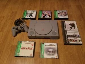 Original PlayStation For Sale With Games Priced Separately