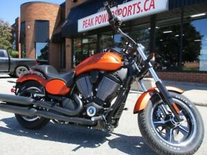 2013 Victory Motorcycles Judge Suede Nuclear Sunset