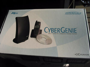Cyber Genie Multi-User PC Cordless Phone System