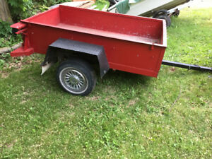 Trailer in perfect shape