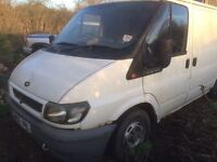 Ford transit BREAKING FOR PARTS ONLY 2003 FWD
