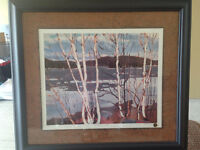 """Spring In Algonquin Park"" Ltd. Edition Print by Tom Thomson"