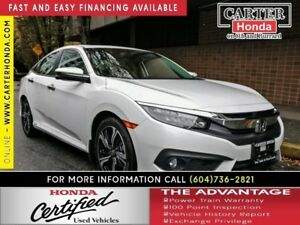 2016 Honda Civic Touring + CERTIFIED 7YR/160K + YEAR-END CLEAROU