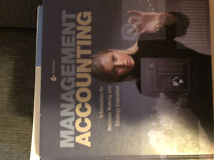 Accounting management Atkinson Pearson 6th edition book